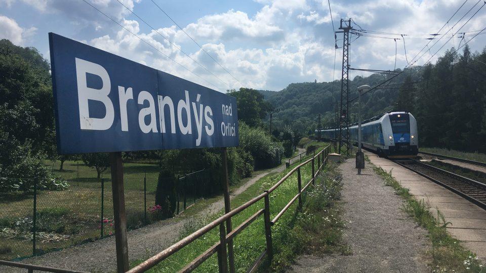Nádraží v Brandýse nad Orlicí