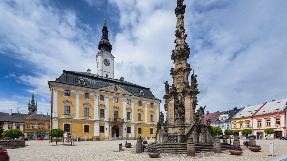 BM-Základ věže radnice v Poličce pochází ze středověku.jpg