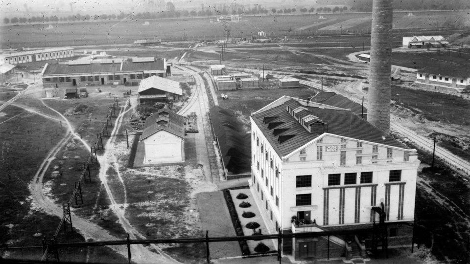 Pohled na dnešní Explosii ve 20. letech 20. století