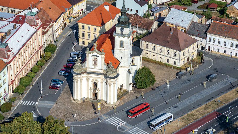 Pohled na Heřmanův Městec