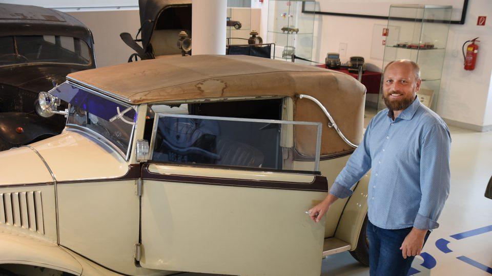 Díky Jiřímu Junkovi je Vysoké Mýto známo všem milovníkům starých automobilů