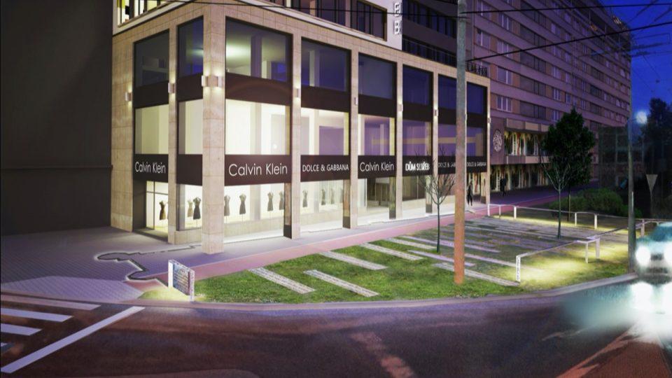 Nerealizovaný návrh památníku architekta Aleše Kloseho z roku 2016