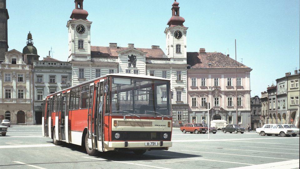 Také z Vysokého Mýta a Karosy - autobus B731