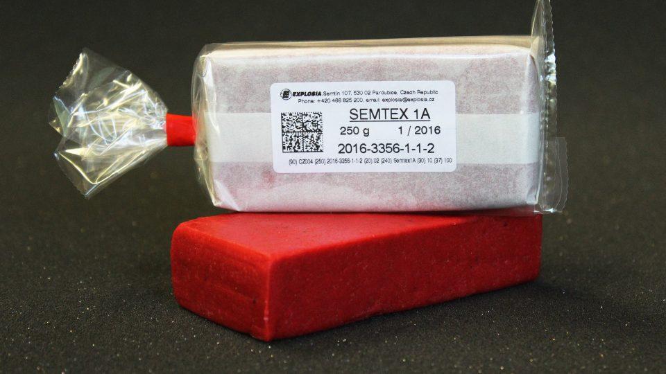 Plastická trhavina Semtex 1A