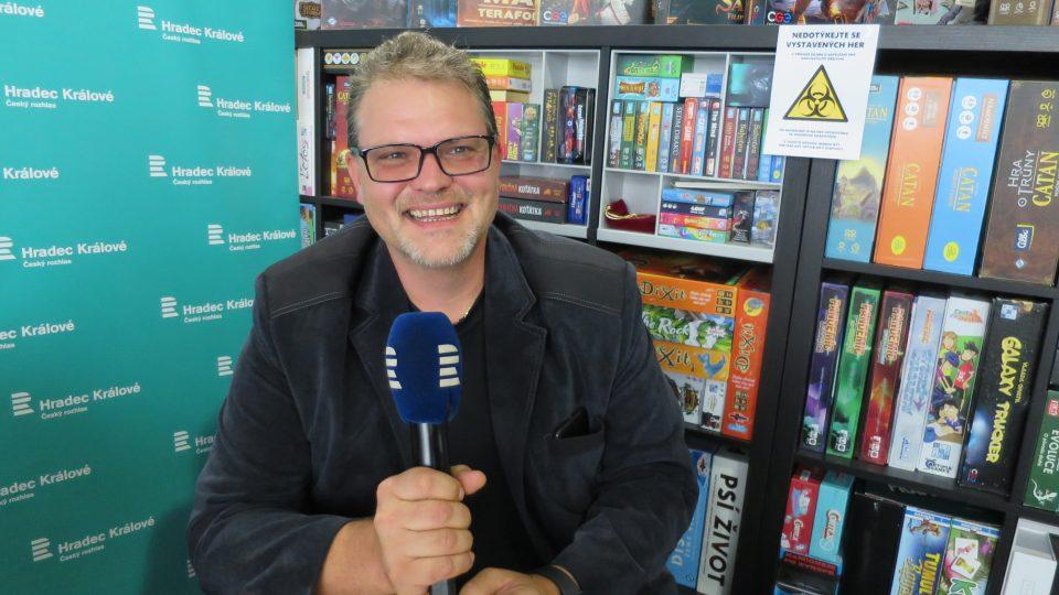 Šéfkuchař Radek Pálka v radiokavárně
