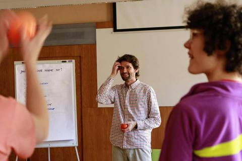 Ondráš Přibyla, seminář Nenásilné komunikace Dojo, 2017