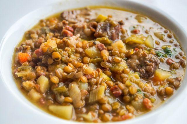 Čočková polévka je vynikající jídlo   foto: Fotobanka Pixabay
