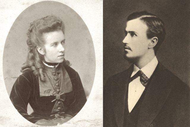 Tomáš Masaryk a Zdenka Šemberová