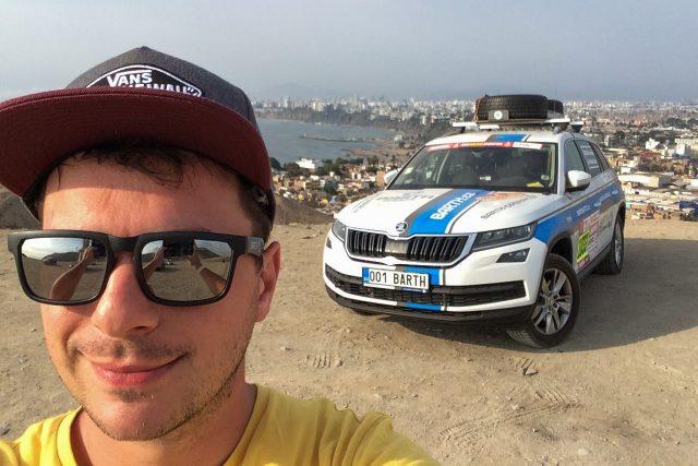 Michal Dvořáček na rallye Dakar