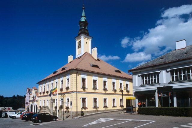 Budova radnice v Žamberku