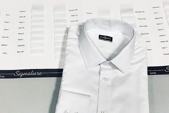 Bílá svatební košile z produkce Ivany Beránkové