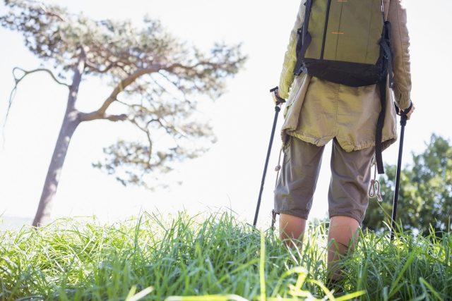 Při nordic walking zapojíte větší počet svalů než při běžné chůzi