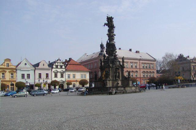 Reslovo náměstí - Chrudim