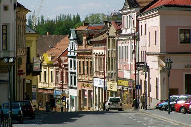 Chrudim - Široká ulice