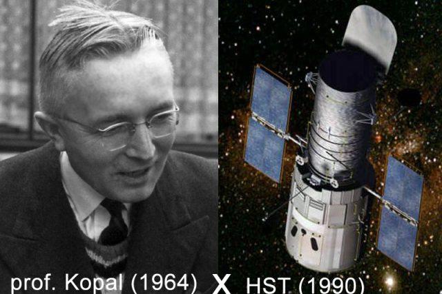 Prof. Zdeněk Kopal vypráví o prvním vesmírném dalekohledu | foto:  NASA