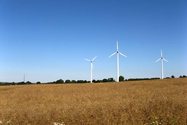 Pro větrné elektrárny jsou v Dánsku ideální podmínky