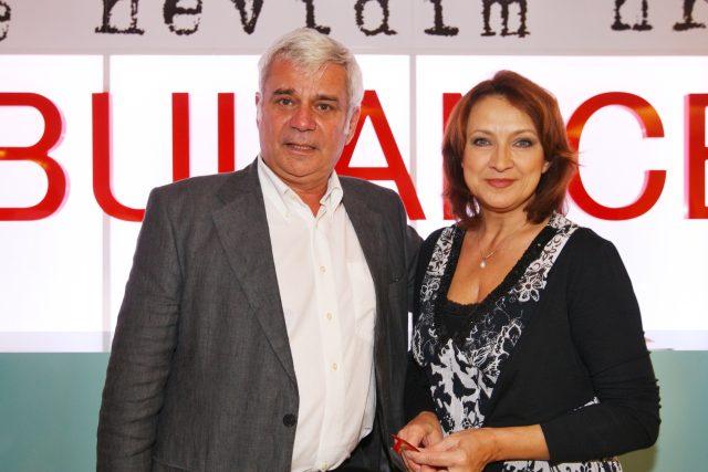 Petr Štěpánek a Zlata Adamovská | foto: Fotobanka Profimedia