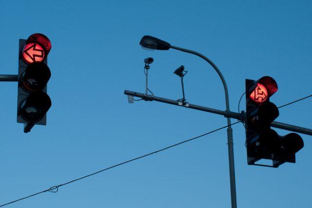 Dopravní kamery a semafory (ilustrační foto).