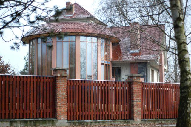 Vila Miloše Holečka v parku Na Špici
