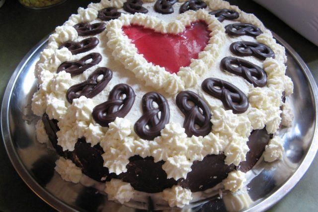 Čokoládový dort (ilustr. obr.)