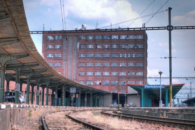 Pardubice, Hlavní nádraží