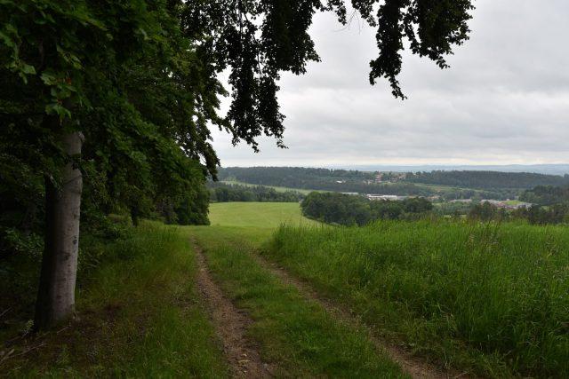Výhled ze Štimberka nad Poříčím | foto: Šárka Kuchtová,  Český rozhlas