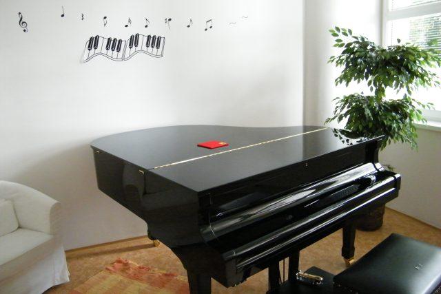 Hudební učebna ZUŠ v Litvínově