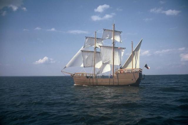 Replika Magalhaesovy Victorie mořeplavce Rudolfa Krautschneidera