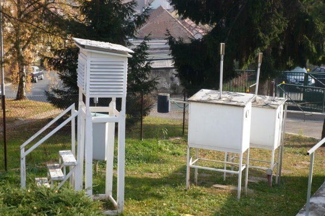 Meteorologické měřící přístroje | foto: Vladan Dokoupil