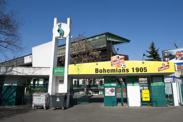 Stadion Bohemians, (Ďolíček)