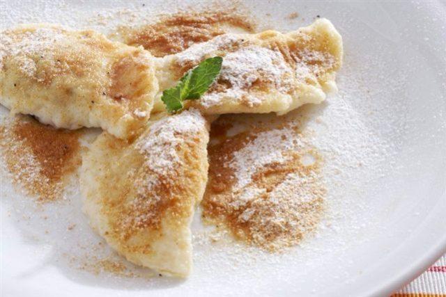 Povidlové taštičky; sladké, dezert, pečení