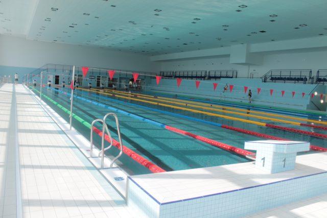 Bazén 50m - Aquacentrum Pardubice