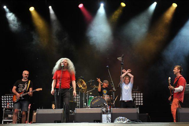 Festival Colours of Ostrava pokračuje druhým dnem, Mňága a žďorb