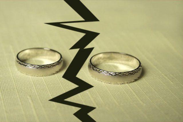 Rozvod, rozpad (ilustr. foto)