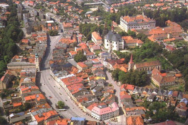 Litomyšl, historické jádro města