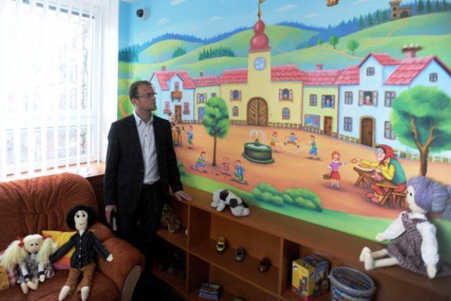 Výslechová místnost pro děti | foto: Drahomíra Bačkorová,  Český rozhlas
