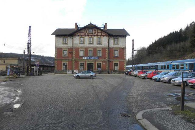 Ústí nad Orlicí - nádraží