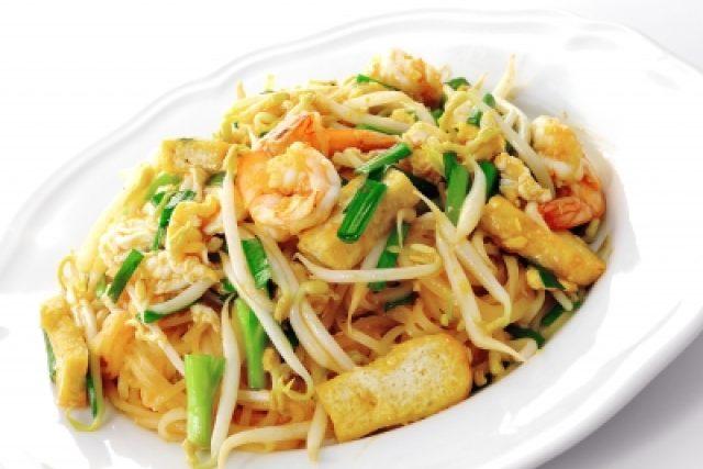 Thajské jídlo s klíčky