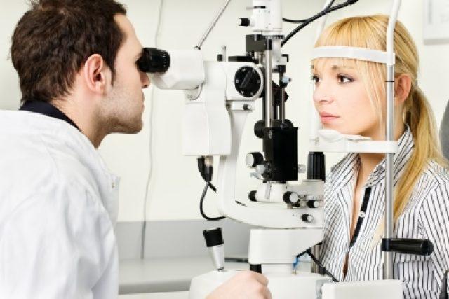 Oční vyšetření (ilustrační foto)