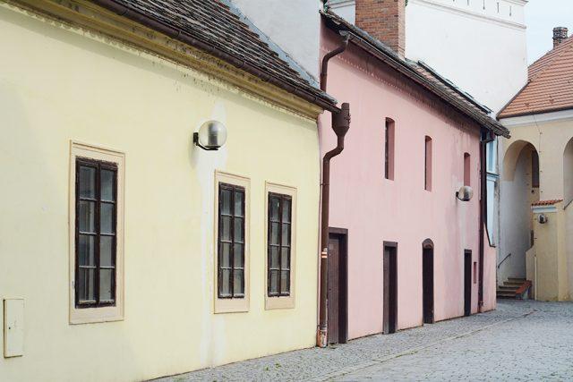 Pohled na Příhrádek od Pernštýnského náměstí   foto: Honza Ptáček,  Český rozhlas