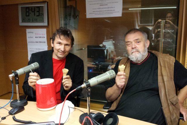 Pavel Janoš a Zbyněk Štěpánek