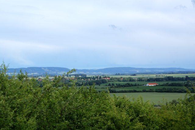 Pohled na Železné hory