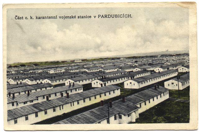 Vojenská nemocnice Pardubice | foto: Východočeské muzeum Pardubice,  Český rozhlas