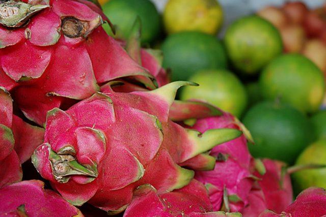 Pithaya  (také pitaya nebo dračí ovoce) | foto: Honza Ptáček,  Český rozhlas