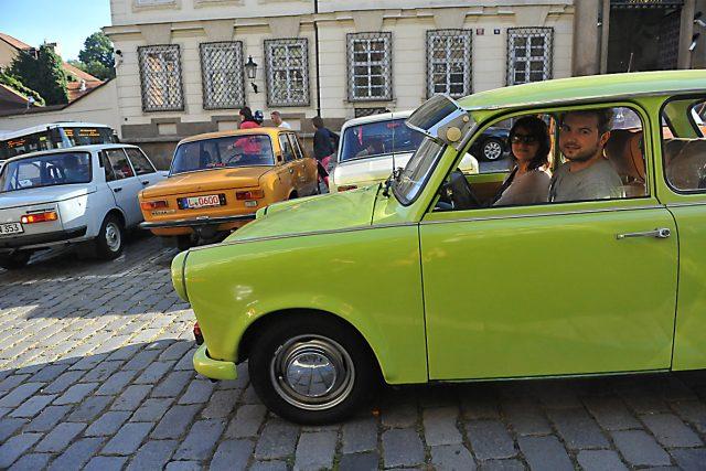 I trabant může být veterán. Musí ale vypadat původně   foto: Filip Jandourek