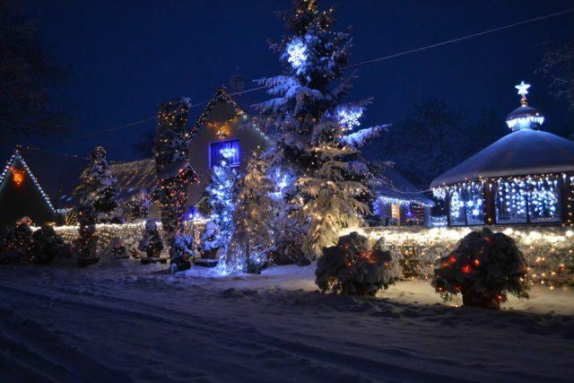 Vánoční výzdoba Pana Trunce z Chotovic
