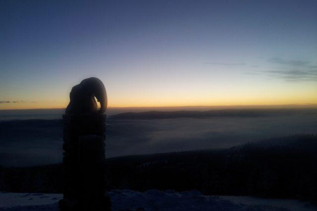 Pohled z vrcholu Králického Sněžníku | foto: Martin Heský