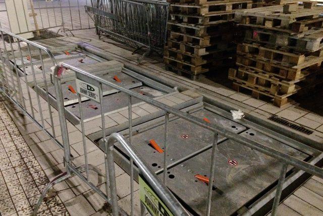 Podzemní kontejnery na tříděný odpad v Pardubicích