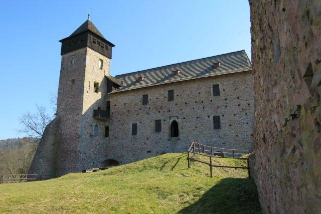 Jižní palác hradu Litice nad Orlicí.jpg | foto: Tereza Brázdová,  Český rozhlas