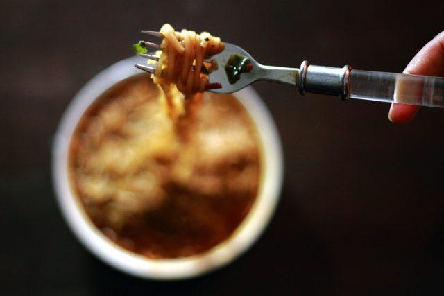 Ragú z červené čočky se špagetami  (ilustrační foto)   foto: licence Creative Commons Atribution-NonCommecial-NoDerivs 2.0 Generic,  Harsh Patel